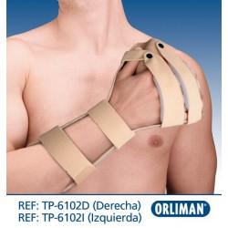 Ortótese imobilizadora de mão anti-espasmódica
