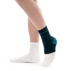 Suporte de tornozelo elástico