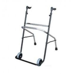 Andarilho com rodas em aluminio e aço
