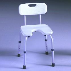 Cadeira de banho Samba com assento em U