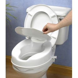 Alteador sanitário económico com tampa 15 cm