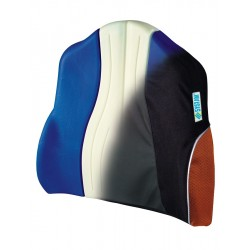 Almofada apoio lombar anti-escaras em espuma viscoelástica