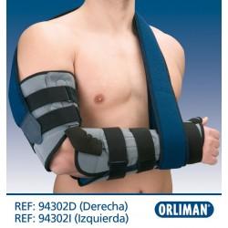"Orliman - Ortótese de cotovelo com tala palmar/polegar ""Humertec"""