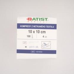 Compressa Tecido Não Tecido (TNT) Não Estéril 10X10 cm BATIST MEDICAL