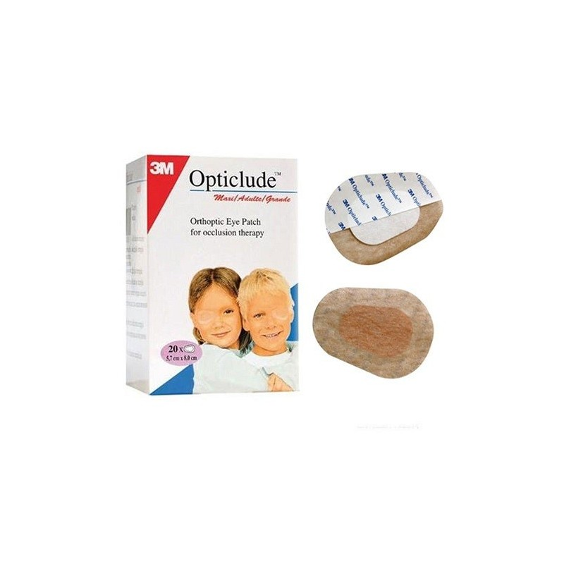 Opticlude Penso Ortóptico ocular 3M 5,7cm x 8,2cm - SALUSA ... 3b4d85adf8