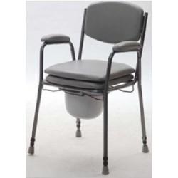 Cadeira sanitária altura ajustável Biort