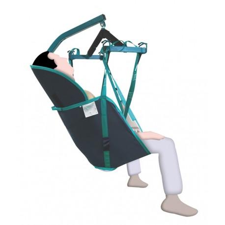 Ajudas Vitais - Arnês com suporte de cabeça T-M