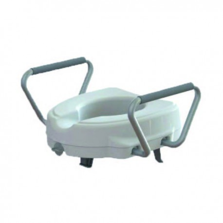 Alteador sanitário ajustável com apoio de braços