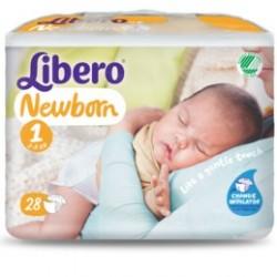Fraldas LIBERO Newborn 2-5 Kg