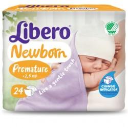 Fraldas para bebé prematuro LIBERO