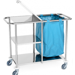 Carro para transporte de roupa- JMS